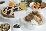 colazioni torta linzer buffet