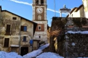 paese santuario neve sacro monte